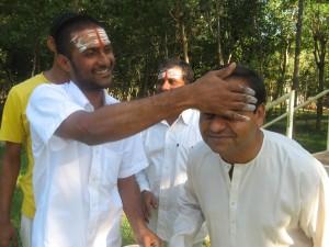 como se faz vibhuti